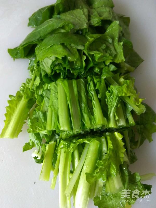 小白菜炖豆腐的做法图解
