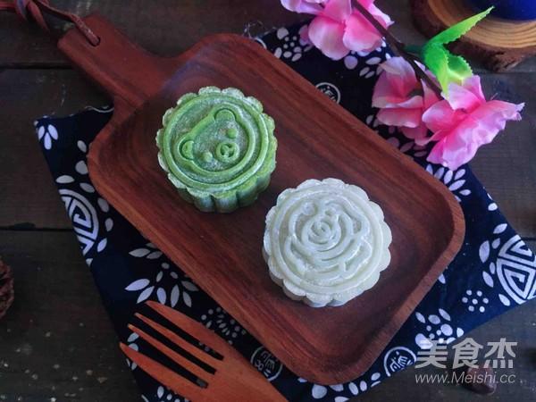 冰皮月餅(附豆沙做法)成品圖
