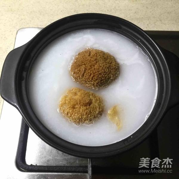 荷香蒸猴头菇鸡腿肉(附如何清洗猴头菇)的做法图解