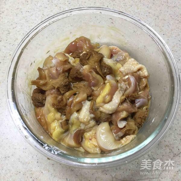荷香蒸猴头菇鸡腿肉(附如何清洗猴头菇)怎么炖