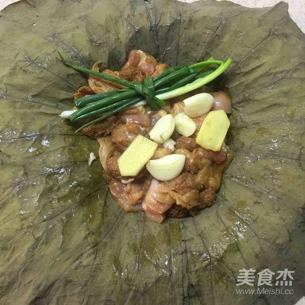 荷香蒸猴头菇鸡腿肉(附如何清洗猴头菇)怎样做