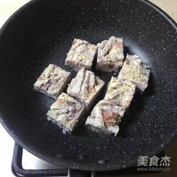 香煎芋丝饼怎样煸