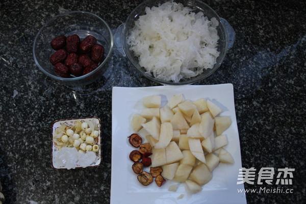 红枣雪梨银耳汤的做法大全