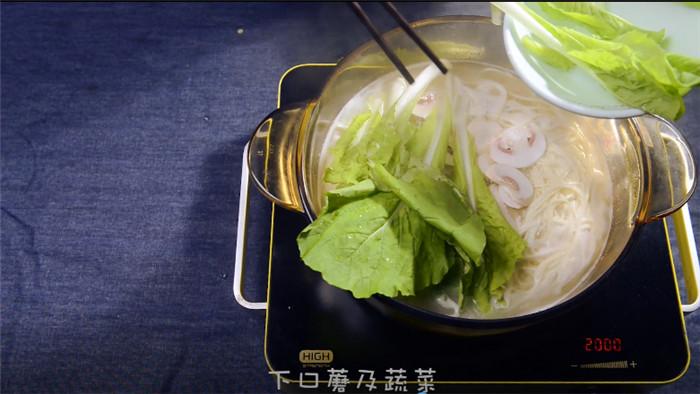 菌汤面怎么吃