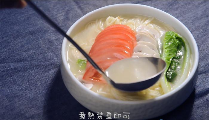 菌汤面怎么炒