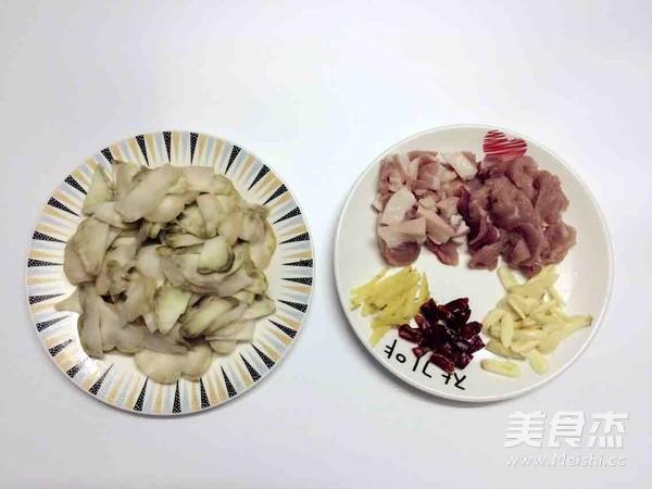 榨菜头炒肉的做法大全