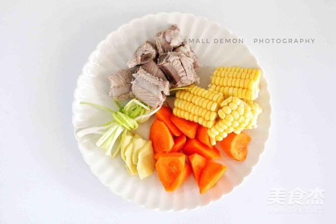 虫草花玉米排骨汤的简单做法