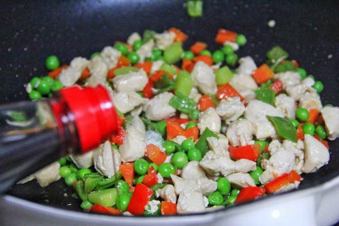 鸡里脊肉炒三丁怎样做