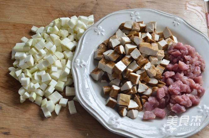 酱炒三丁的做法图解