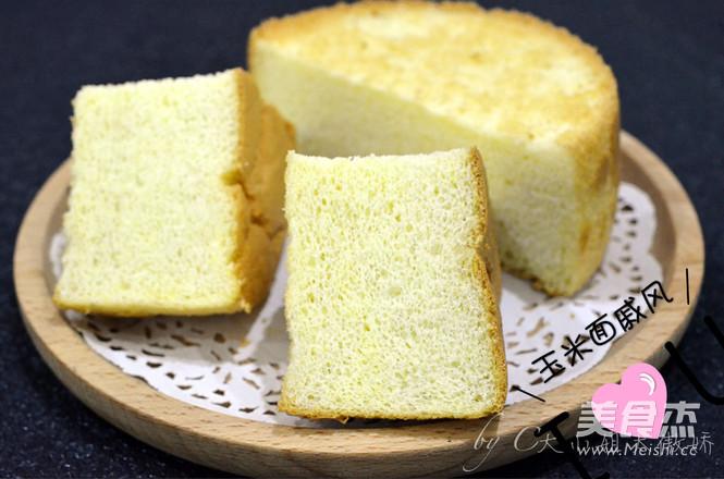 玉米面戚风蛋糕(6寸)怎样做