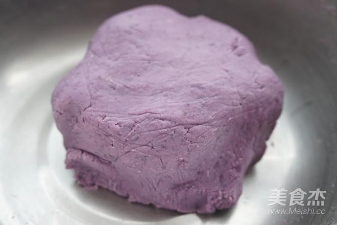 紫薯糯米饼的简单做法