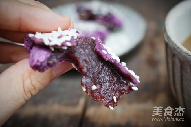 紫薯糯米饼怎样煸