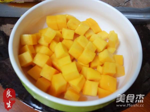 芒果椰汁西米露的简单做法