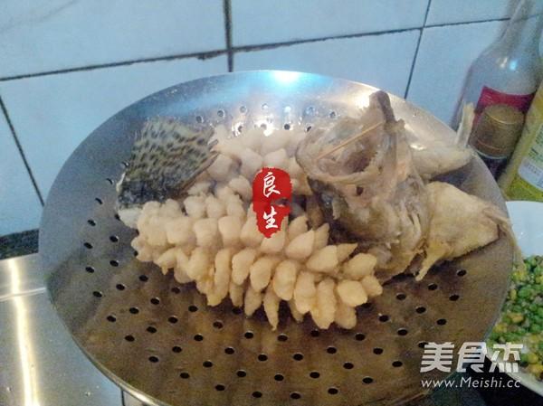 松鼠鳜鱼的制作