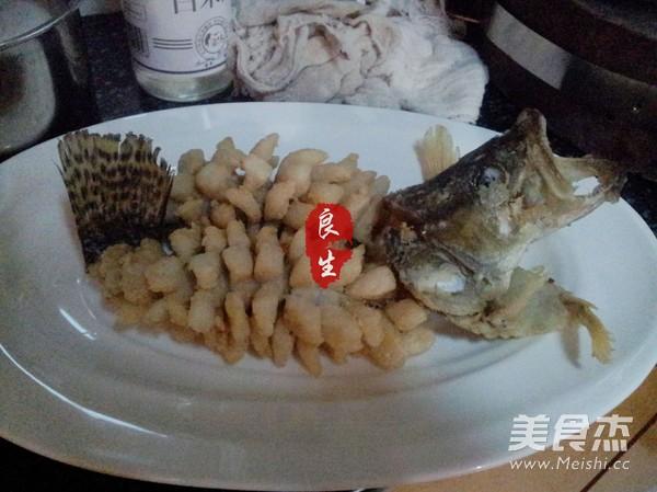 松鼠鳜鱼的制作方法
