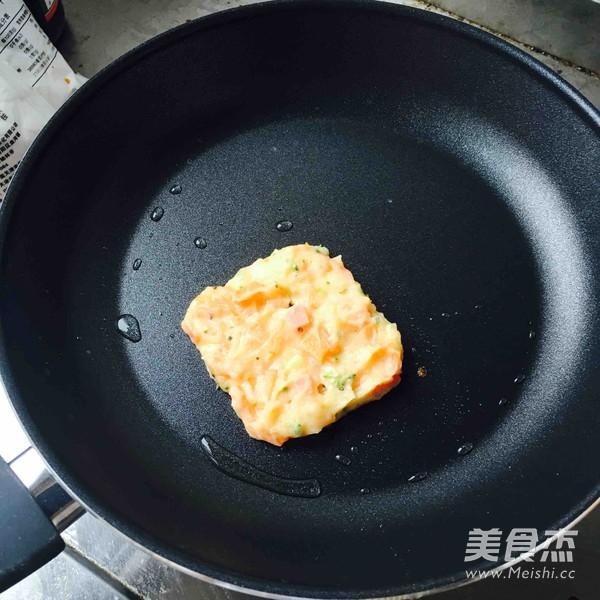 时蔬土豆饼怎么炒