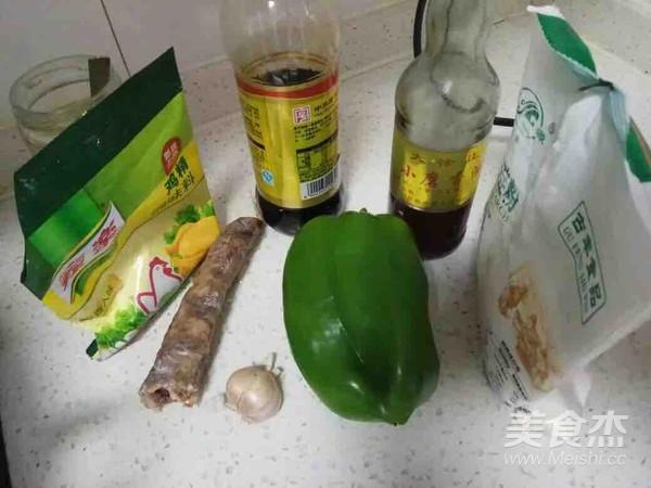青椒炒腊肠的做法大全
