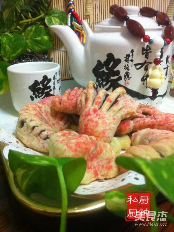 中式糕点白皮成品图