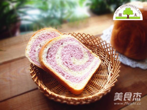 紫薯双色吐司怎样炒