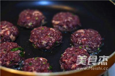 苏打牛肉迷你汉堡的步骤