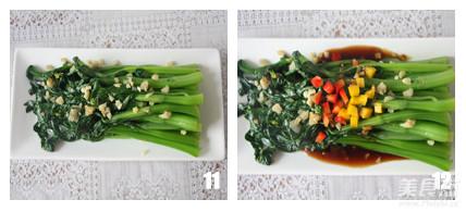 蚝油菜心怎么做