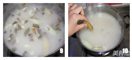咖喱猪骨汤底怎么吃