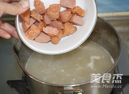 咖喱牛肉丸油豆腐粉汤怎么吃