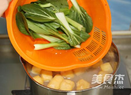咖喱牛肉丸油豆腐粉汤怎么炒