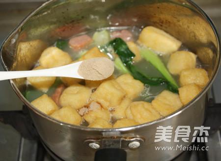 咖喱牛肉丸油豆腐粉汤怎么煮