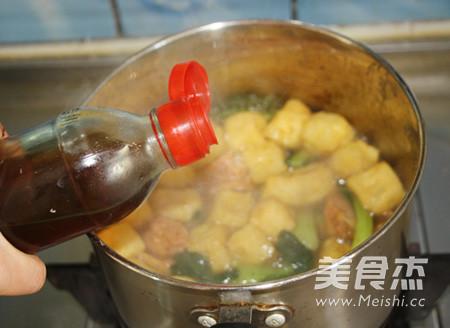 咖喱牛肉丸油豆腐粉汤怎样煸