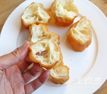 菠萝油条虾怎么吃
