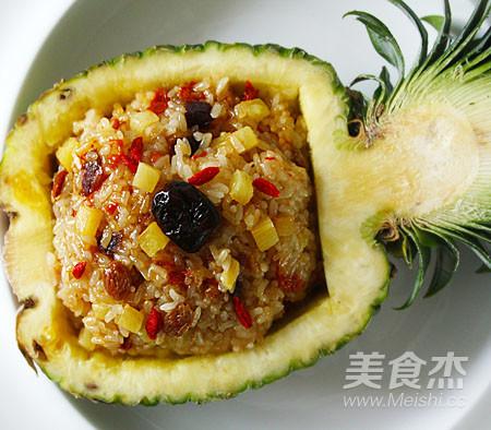 菠萝饭怎样做