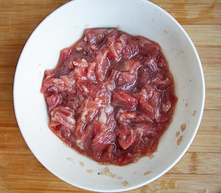 韩式牛肉炒杂蔬的做法图解