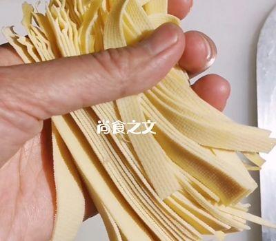 干豆腐素杂拌的简单做法