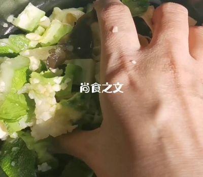 干豆腐素杂拌怎样煸