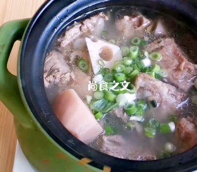 武汉人最爱的排骨藕汤怎样做