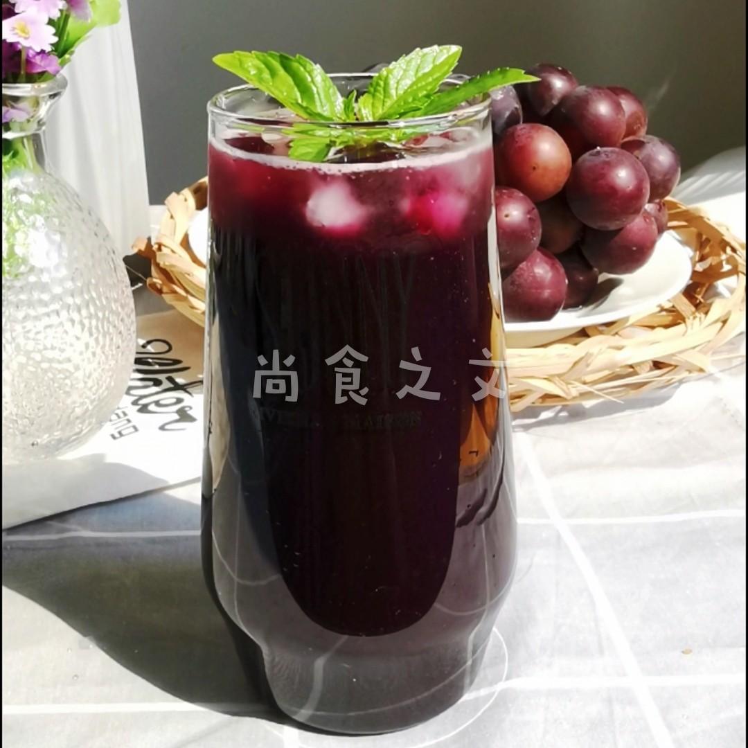 葡萄气泡水怎样做