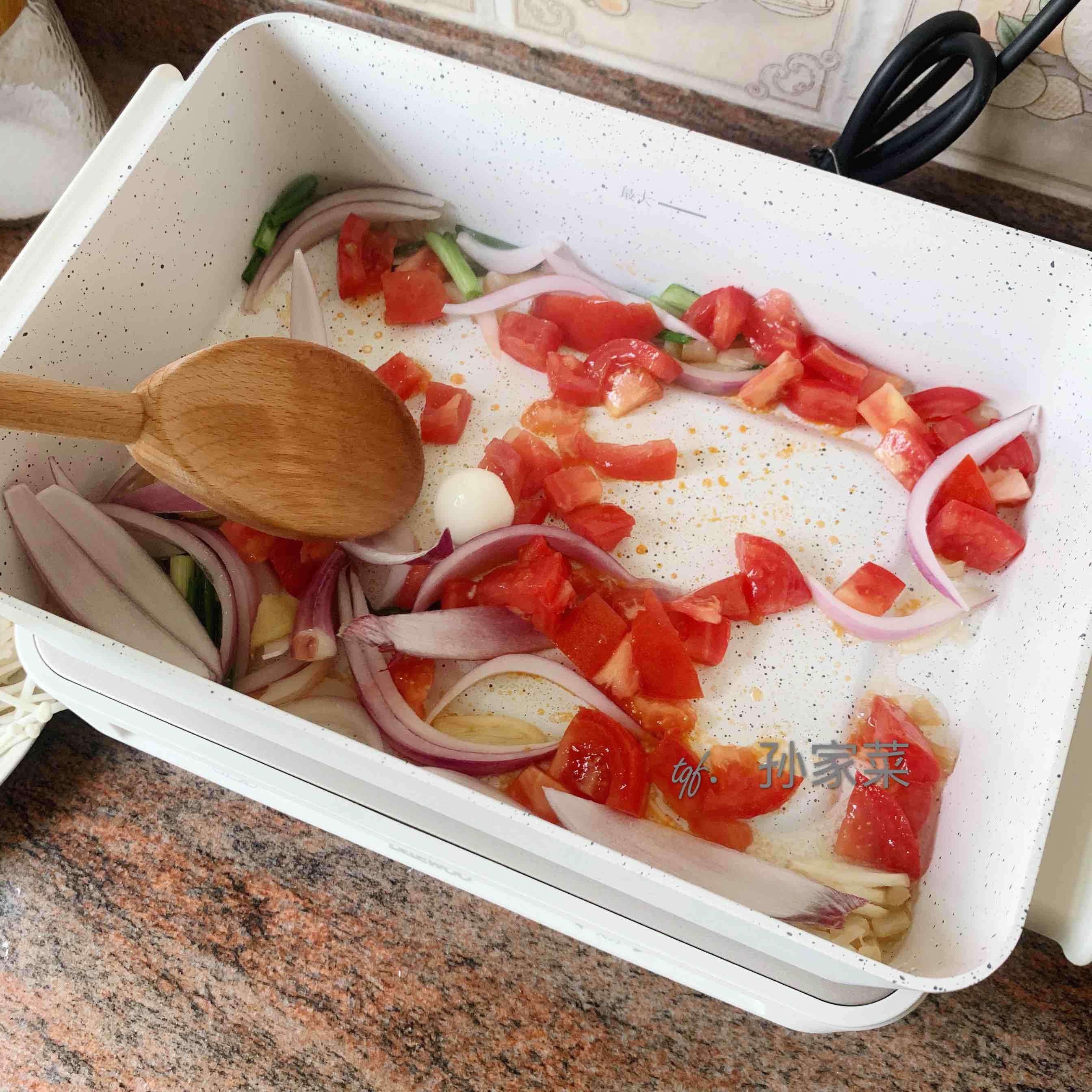 海鲜汤的做法图解