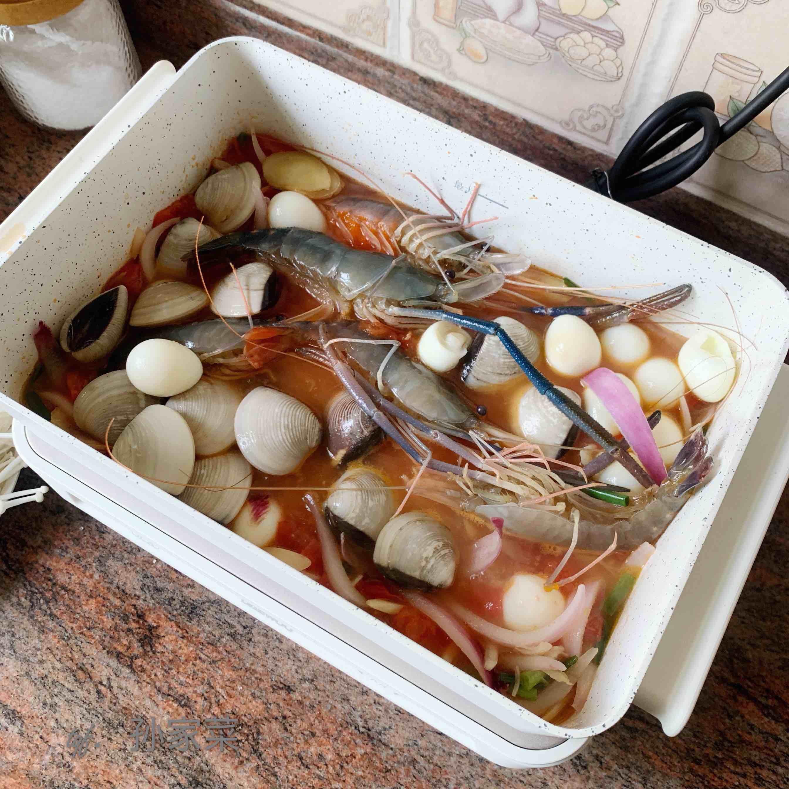 海鲜汤的简单做法
