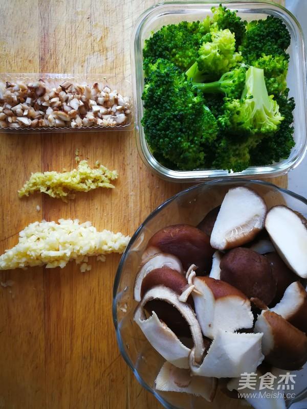 香菇滋润西兰花怎么做