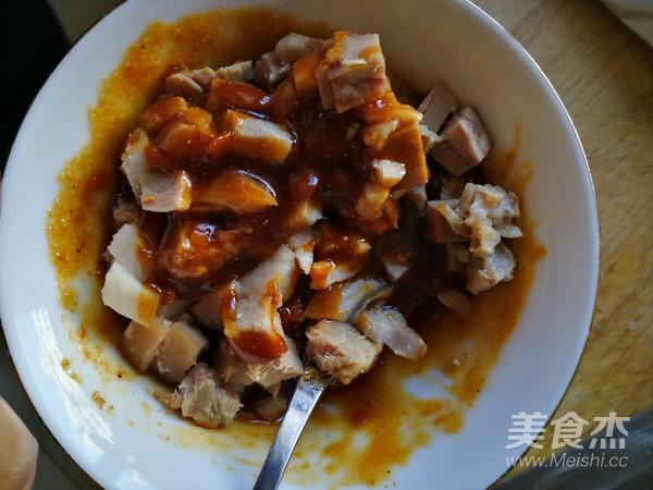 锡纸肉块金针蘑的简单做法