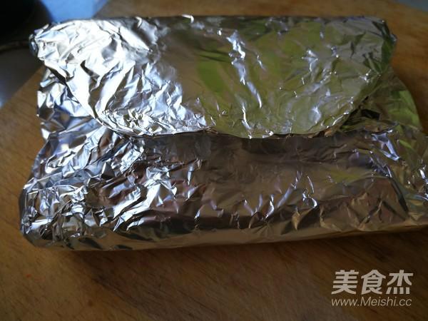 锡纸肉块金针蘑怎么做