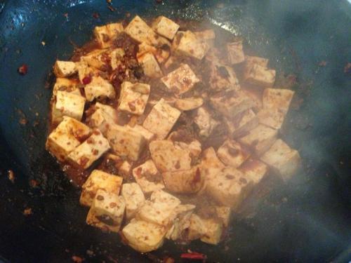 四川麻婆豆腐的简单做法