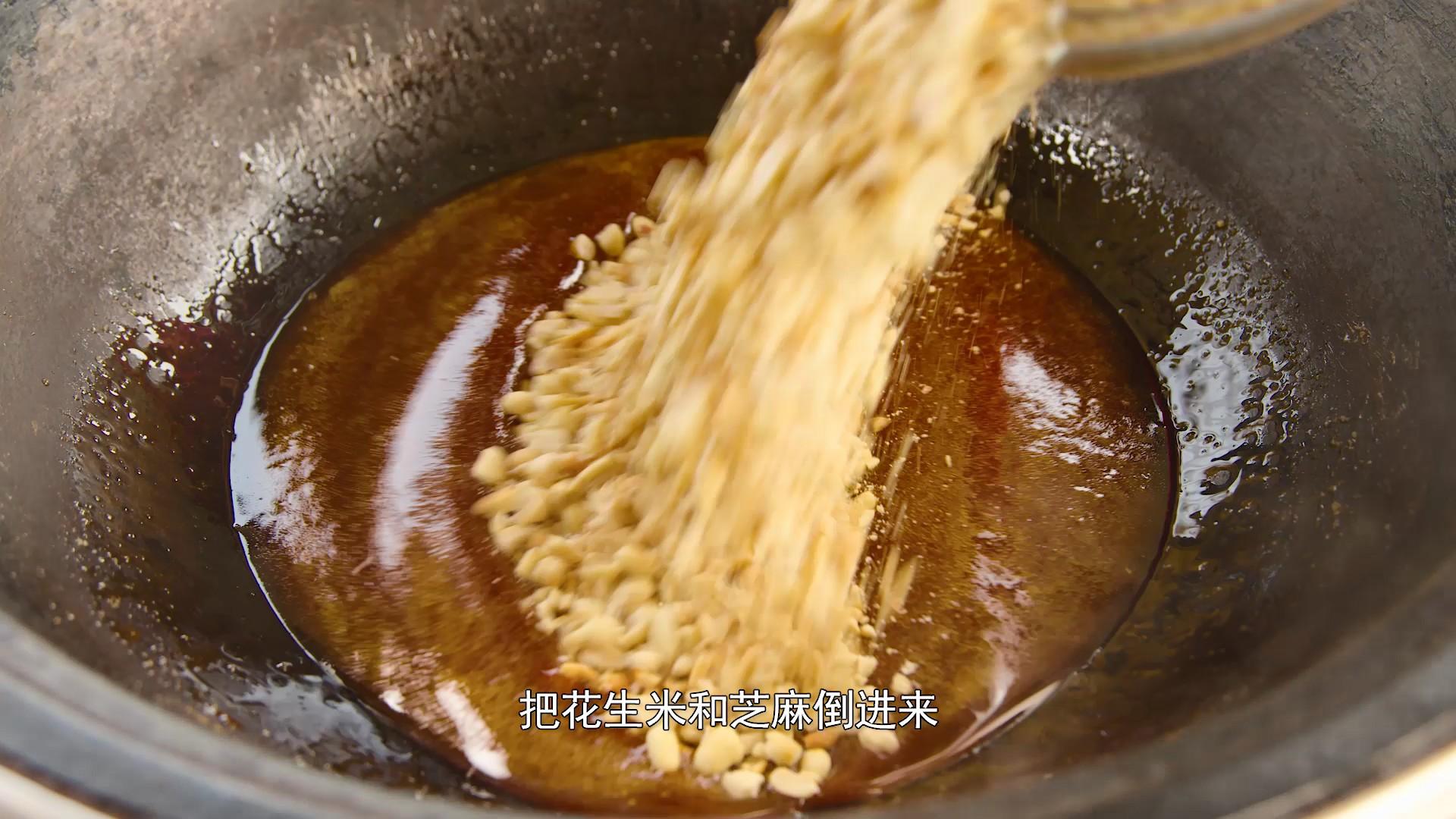 自制小零食【花生糖】,酥脆香甜,制作简单怎么炒