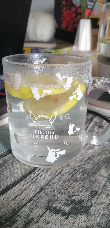 甲状腺炎食谱:热柠檬水成品图