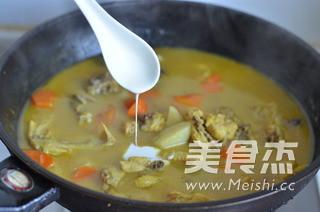咖喱鸡饺子火锅怎么煸
