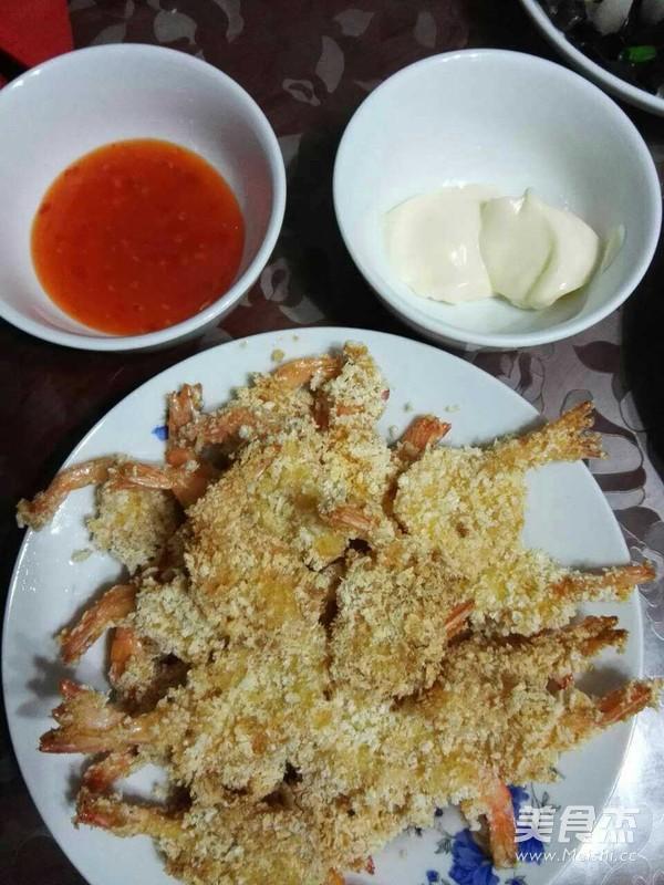 香酥凤尾虾怎么做