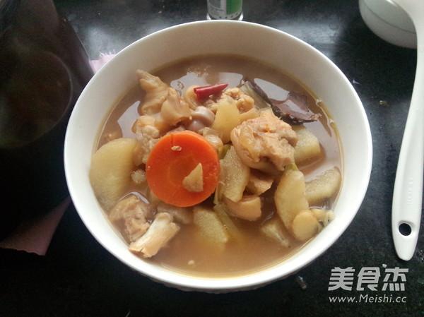 砂锅山药黄豆炖猪蹄怎样煸