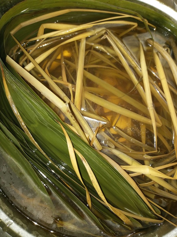 蜜枣红豆粽的家常做法