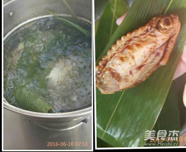 粽香鸡翅的家常做法